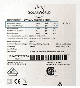 Panneaux solaires fourgon aménagé