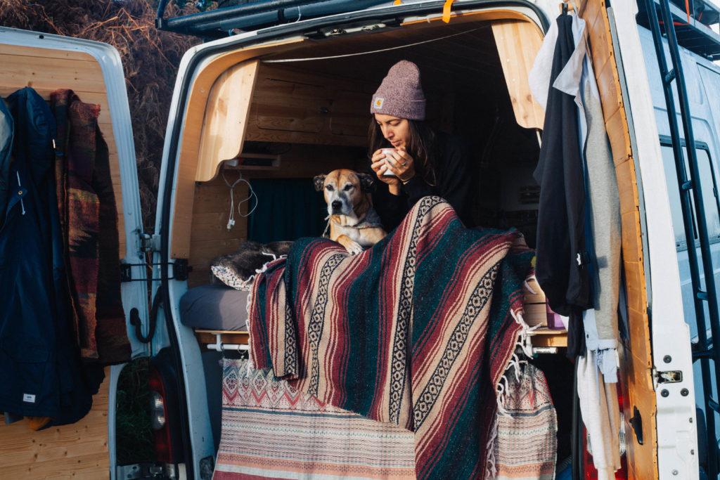 Vivre en van l'hiver