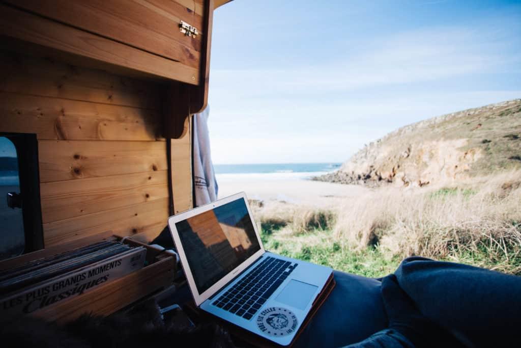 Être freelance en van
