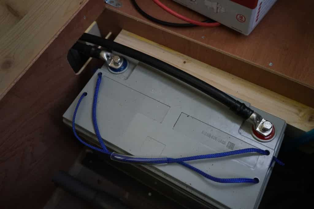 Batterie parallèle fourgon