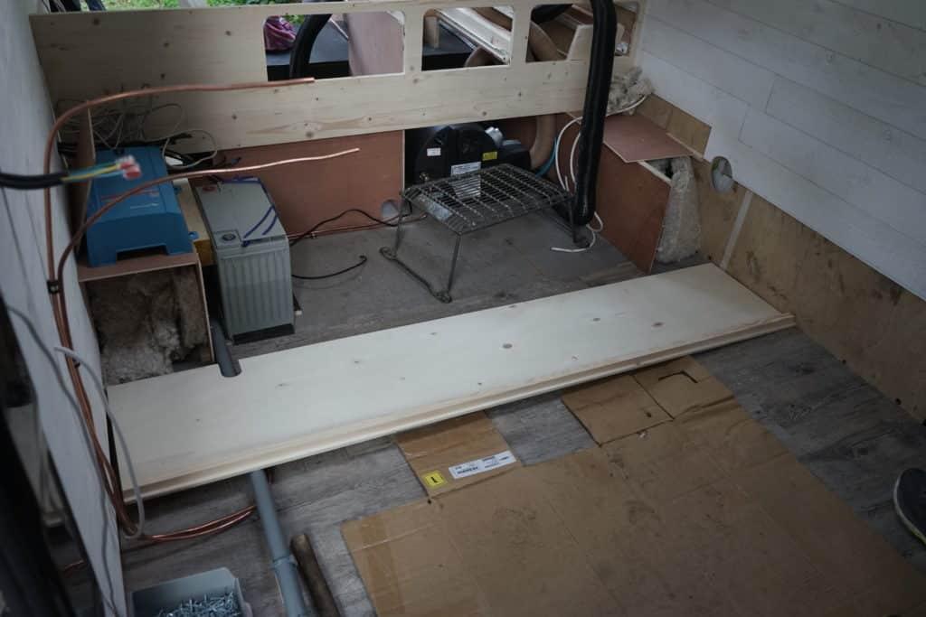Construction banquette salon