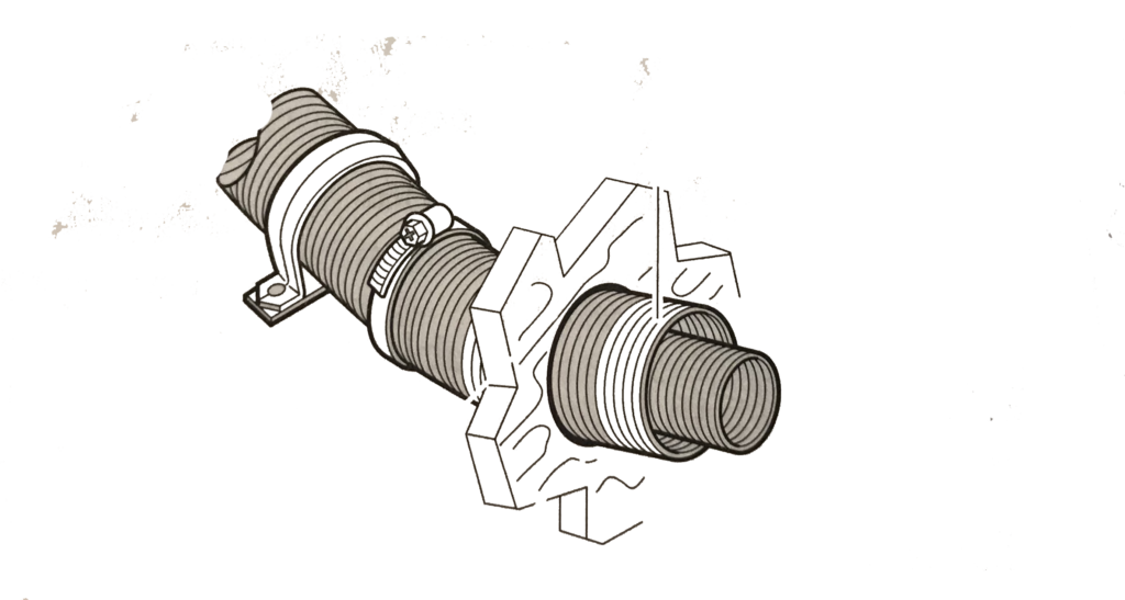 Deux tuyaux truma