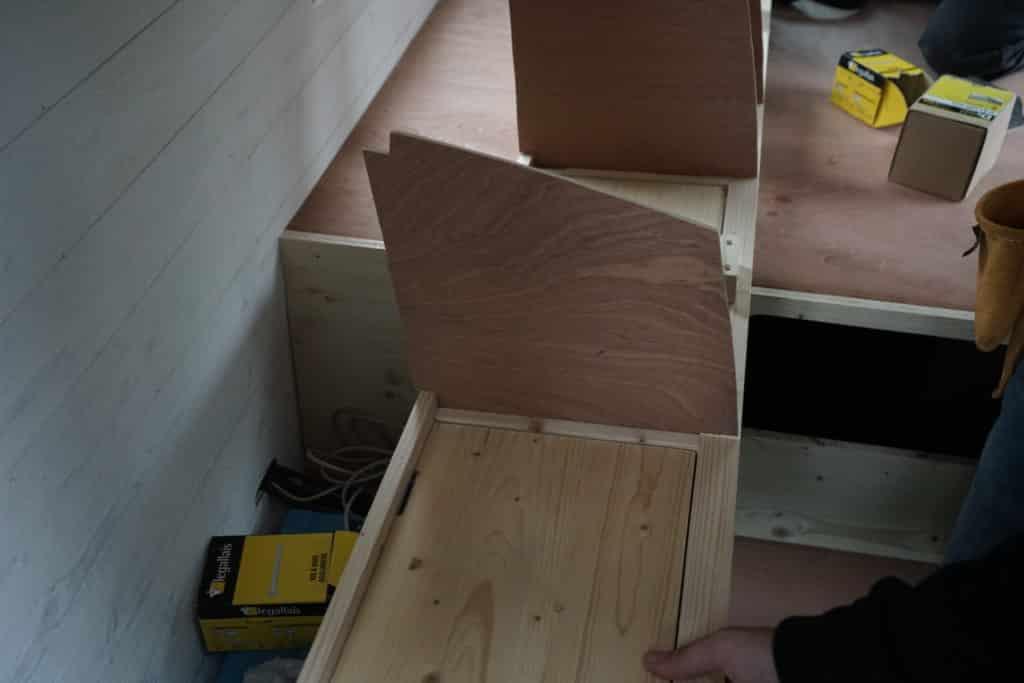 Séparation meuble fourgon
