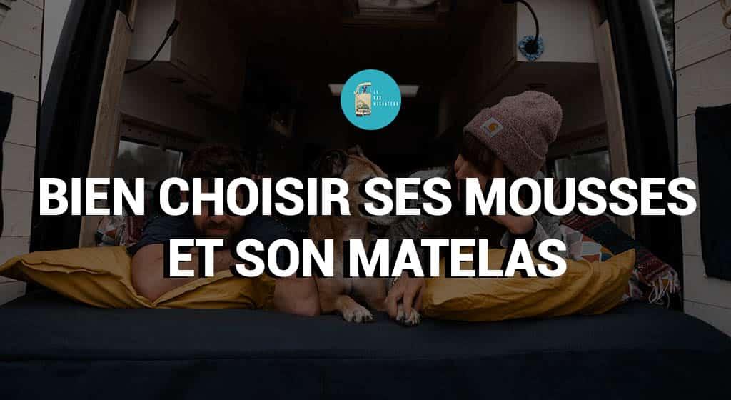 CHOIX DES MOUSSES